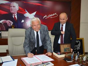112 Acil Hizmet İstasyonu için yer tahsisi protokolü imzalandı