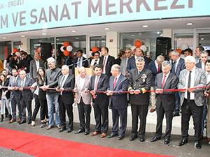 Karadeniz Ereğli Bilim ve Sanat Merkezi düzenlenen törenle açıldı