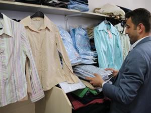 Belediye tarafından giysi toplama kampanyası başlatıldı