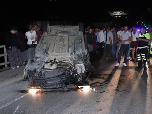 Ereğli'deki iki ayrı trafik kazasında iki kişi yaralandı