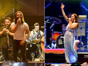 Festivalin finalinde Koray Avcı ve Yıldız Tilbe unutulmaz anlar yaşattı