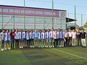 Ereğli Belediyespor 13 futbolcuyu renklerine kattı