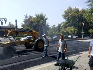 Ereğli Belediyesi asfalt çalışmalarına devam ediyor