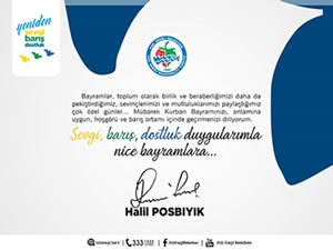 Posbıyık'ın Kurban Bayramı mesajı