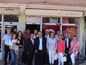 CHP İlçe Başkan Adayı Neriman Posbıyık, partisinin Gülüç Örgütü'nü ziyaret etti