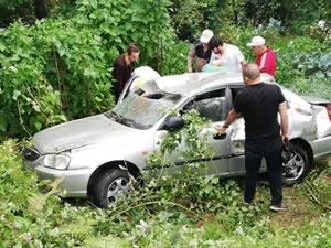 Zonguldak-İstanbul Karayolu'nda kaza: 3 kişi yaralandı