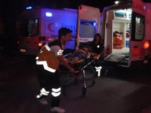 Lunaparktaki gondoldan düşen çocuk yaralandı