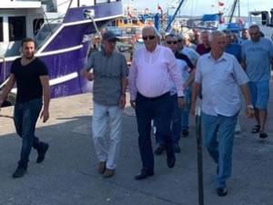 Belediye Başkanı Posbıyık, sezon açılışı öncesi balıkçılarla bir araya geldi
