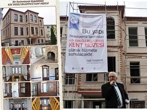 Tarihi Kentler Birliği'nden Ereğli Belediyesi'ne uygulama ödülü