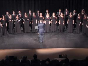 Polonya Adam Mickiewicz Üniversitesi Korosu Zonguldak'ta konser verdi