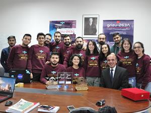 Grizu 263 Uzay Takımı, Türkiye'nin İlk Küp Uydusunu Geliştiriyor