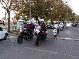 2-8 Kasım Lösemili Çocuklar Haftası dolayısıyla konvoy düzenlendi