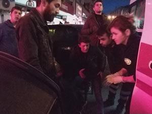 Ereğli'de kaza: Motosiklet sürücüsü yaralandı