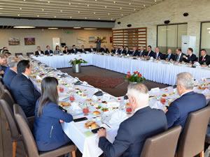 OYAK Genel Müdürü Erdem, Ereğli'de bir toplantı düzenledi