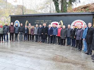4 Aralık Dünya Madenciler Günü dolayısıyla tören düzenlendi