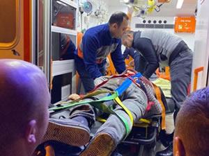 Bıçaklı kavga: 1 kişi ağır yaralandı