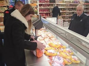 Gıda üretim ve satış yerleri denetlendi