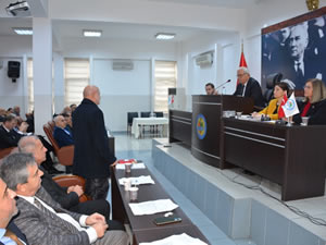 Yeni yılın ilk meclis toplantısı yapıldı