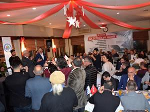 Posbıyık, 10 Ocak Çalışan Gazeteciler Günü'nde basın mensuplarıyla buluştu