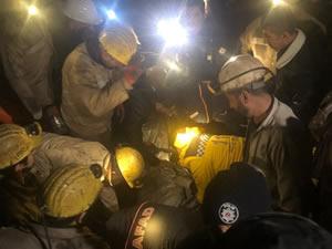 Göçük altında kalan 2 madencinin cansız bedenlerine ulaşıldı