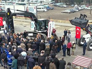 Ereğli Belediyesi'nin araç filosuna üç yeni iş makinesi eklendi