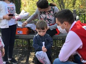 Türk Kızılayı Ereğli Şubesi'nin yardımları sürüyor