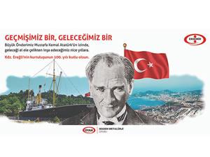 Erdemir, Ereğli'nin kurtuluşunun 100. yılını kutladı