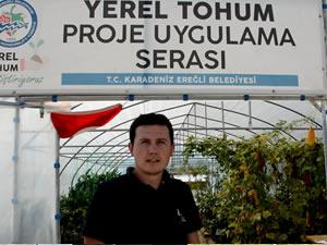 Yerel Tohum Projesi'nde ata tohumları depolanmaya başlandı