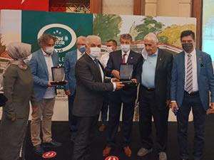Tarihi Kentler Birliği'nden Ereğli Belediyesi'ne ödül