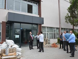 Atatürk Kültür Merkezi'nde yenileme çalışmaları sürüyor