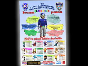 Emniyet müdürlüğü tarafından toplum destekli polislik ve çocuk